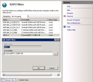 IIRF 2.1 Isapi Filter