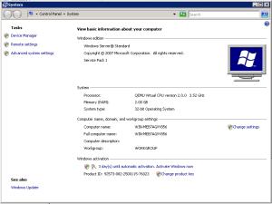 Windows Server 2008 32bit SP1