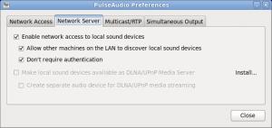 paprefs PulseAudio