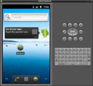 Android 2.3 Virtual Device