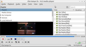 VLC DVB-TV