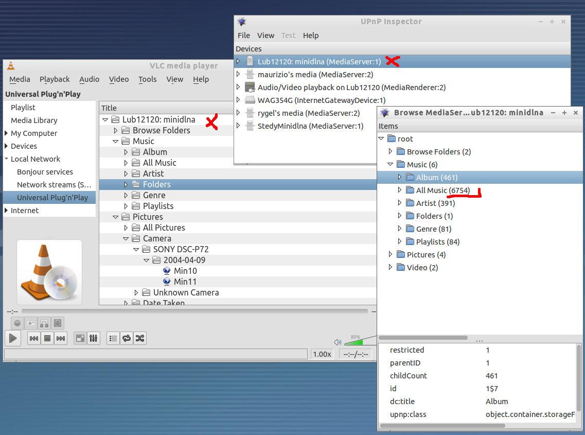 miniDLNA un server dlna leggero ed efficace in ubuntu linux