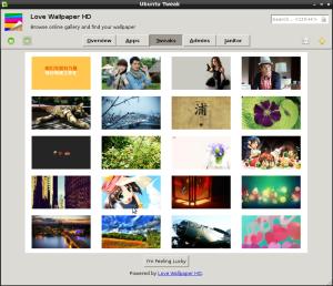 Ubuntu tweak wallpaper