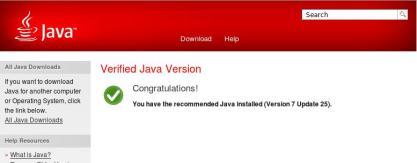 jre version online check