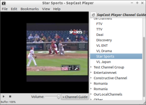 sopcast player ubuntu 14.04