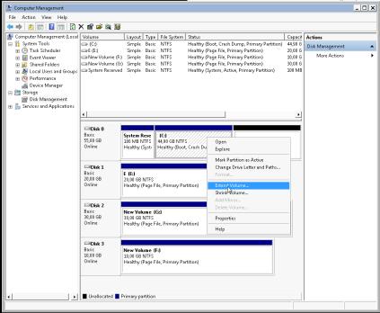 resize disk win7 CM2-virsh