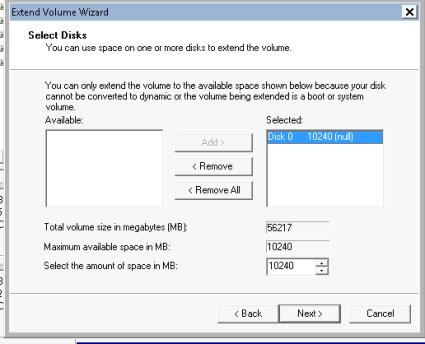 resize disk win7 CM4-virsh