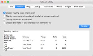 Network Utility - Mac Pro
