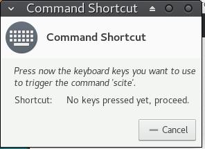 popup capture shortcut