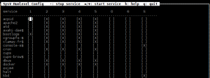 il servizio docker sysv-rc-conf